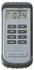 Przenośny termometr elektroniczny, różnicowy na termoparę typ K z wyświetlaczem LCD, wymienialne zewnętrzne sondy, możliwość podpięcia 2 sond jednocześnie, 2 konektor sub-miniture, zakres pomiaru -50 do +1300 C, osłona gumowa (COMARK)