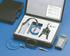 Pompka ciśnieniowa z akcesoriami do testowania istalacji ciśnienia. Skład zestawu: pomka ręczna, konektory, przewody pneumatyczne, tabela konwesji i walizka (COMARK)