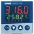 Regulator elektroniczny dTRON 316  typ 703041/181-000-23/000. Wymiary przedniego panelu 48 x 48 mm; zasilanie 110… 240 V AC. (Jumo)