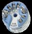 Przetwornik temperatury do głowicy ; czujniki rezystancyje, termoparowe,mV, Ohm; sygnał wyjściowy 4...20 mA + HART;  wielkość DIN B;Exi; SIL: Prior Use (Emerson)