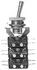 Łączniki serii  83 544, 83 545, 83 546  z napędem ręcznym Złocone końcówki (Promet)