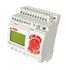 Przekaźnik programowalny NEED-12DC-22-08-4R-D  8wejść/4wyjścia, Zasilanie: 12VDC, z wyświetlaczem, wersja 22 (Relpol)
