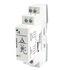 Przekaźnik nadzorczy MR-EU3M1P wielofunkcyjny: 1P - jeden zestyk przełączny. Napięcie nadzorowane 3~(N) 400 / 230 V AC. Nadzór napięcia w trzech fazach; kolejności faz; zaniku fazy; asymetrii napięć - nastawy 5...25%. Możliwe podłączenie przewodu neutr… (Relpol)