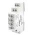 """Przekaźnik nadzorczy MR-EU31UW1P wielofunkcyjny1P - jeden zestyk przełączny. Napięcie nadzorowane 3~(N) 400 / 230 V AC. Nadzór napięcia w jednej fazie lub w trzech fazach - nadzór wartości minimalnej oraz nadzór w funkcji """"okna"""" (wartości nastawiane); … (Relpol)"""