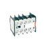 Zestyki pomocnicze CRI10-04 do ministyczników CRMI - 4 N/Z (51-52, 61-62, 71-72, 81-82). Prąd zestyku Ie: AC15 - 3 A / 400 V, 4 A / 230 V. Wymiary: 34 x 45 x 40 mm. Zwiększają wysokość stycznika o 27 mm. (Relpol)