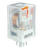 Przekaźniki R15 R15-1012-25-1220 2 zestyki przełączne, 10 A, do druku, w obudowie, IP 40. Wykonanie napięciowe 220 V DC (Relpol)