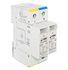 Ogranicznik RPC-80/280/1N klasa II/C, 2-polowy, Imax - 80 kA, wymienna wkładka, warystor+iskiernik (Relpol)