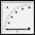 Miernik magnetoelektryczny MA12 zakres pomiarowy 100uA, pozycja pracy C3 K=90° (Lumel)