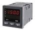Regulator temperatury RE71 wejście Pt100 -50..100°C, algorytm PID lub załącz-wyłącz, wyjście przekaźnikowe, zasilanie 230V AC (Lumel)